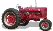 Farmall Super M tractor photo