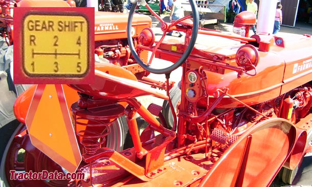 Farmall Super M  transmission photo