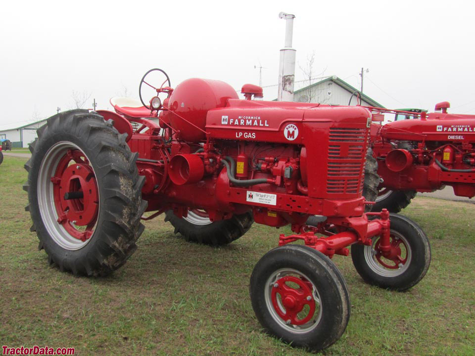 Farmall Super M wide-front with LP-gas engine.