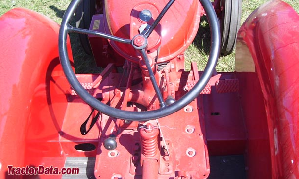 McCormick-Deering W-4  transmission photo