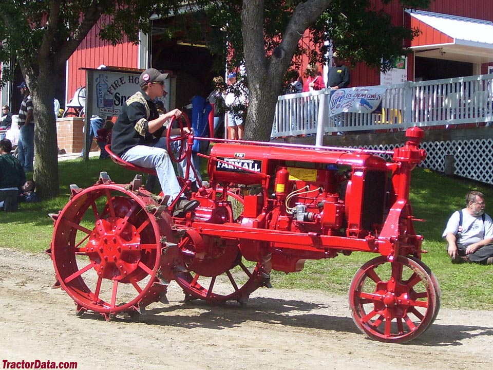 Farmall F-20 on steel wheels.