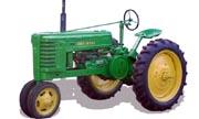 John Deere H tractor photo