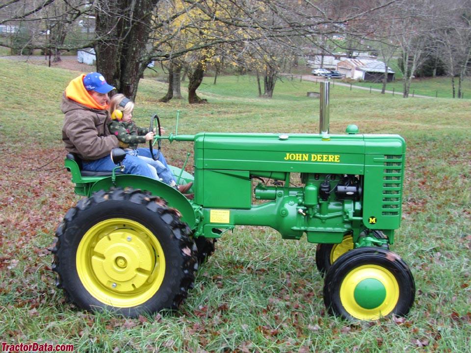 Jd Tractor Paint : John deere model m