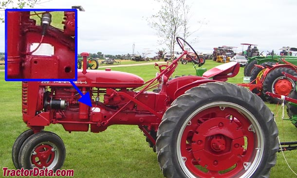 Farmall 200 serial number location