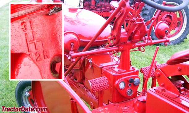 Farmall 200  transmission photo