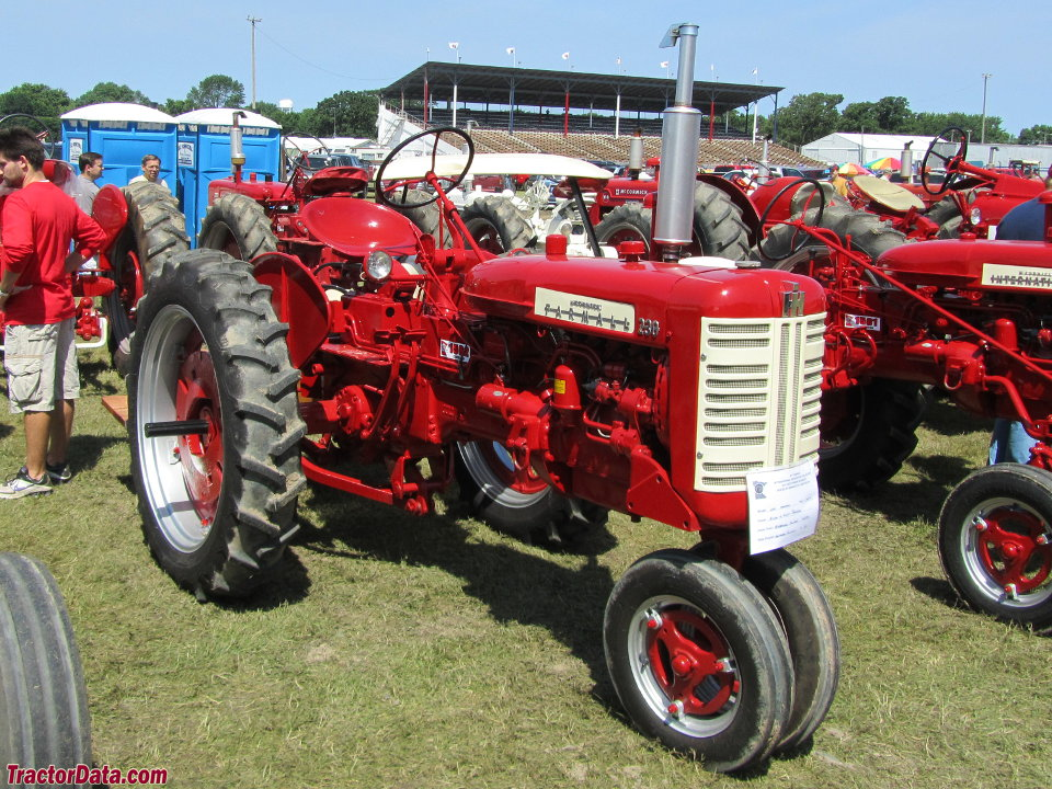 Farmall 230 with tricycle front end.