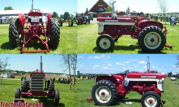 International 240 Tractor : Tractordata international harvester tractor