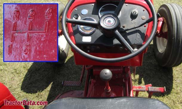 International Harvester 424  transmission photo