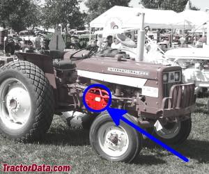 TractorData.com International Harvester 444 tractor information on