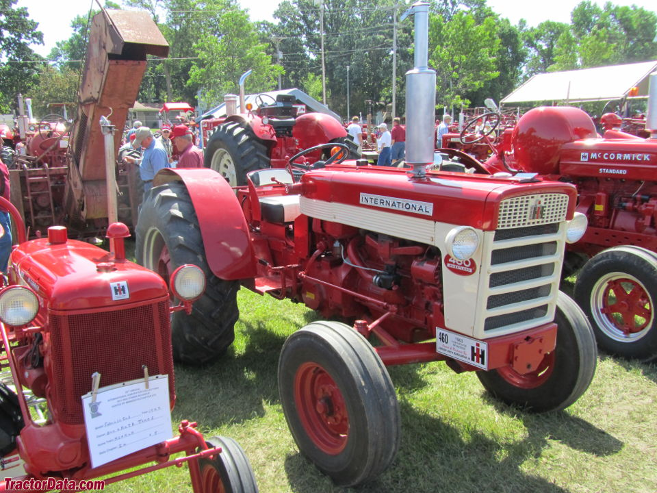 International 460 gas Wheatland