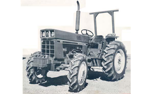 International Harvester 483