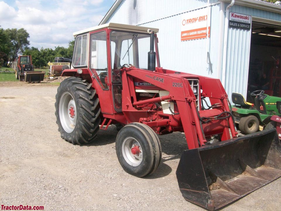 1970 574 International Tractors : Tractordata international harvester tractor photos