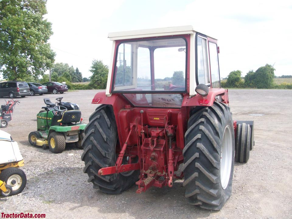 Ih 574 Tractor : Tractordata international harvester tractor photos