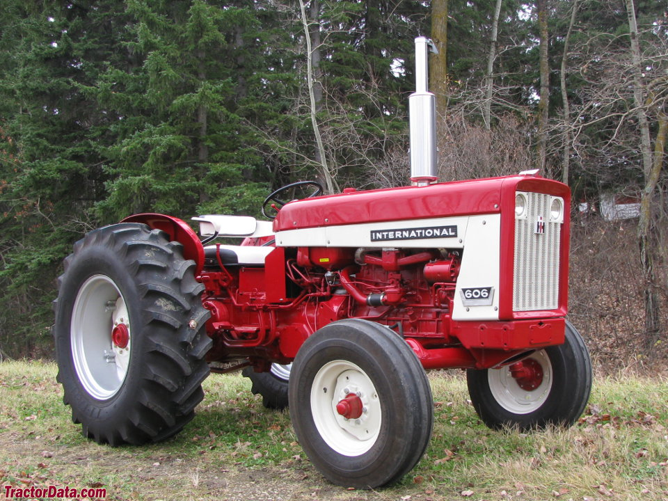 tractordata com international harvester 606 tractor photos information