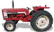 International Harvester 656 tractor photo
