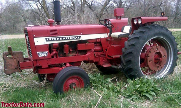 International 656 Tractor With Loader : Tractordata international harvester tractor photos