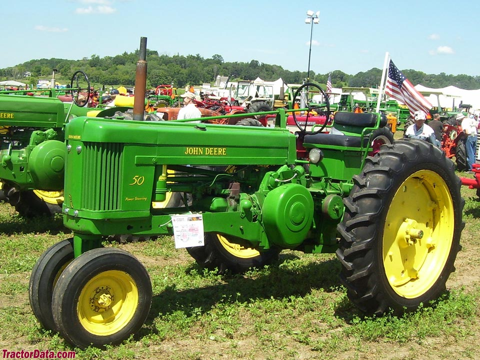 John Deere 50, left side.