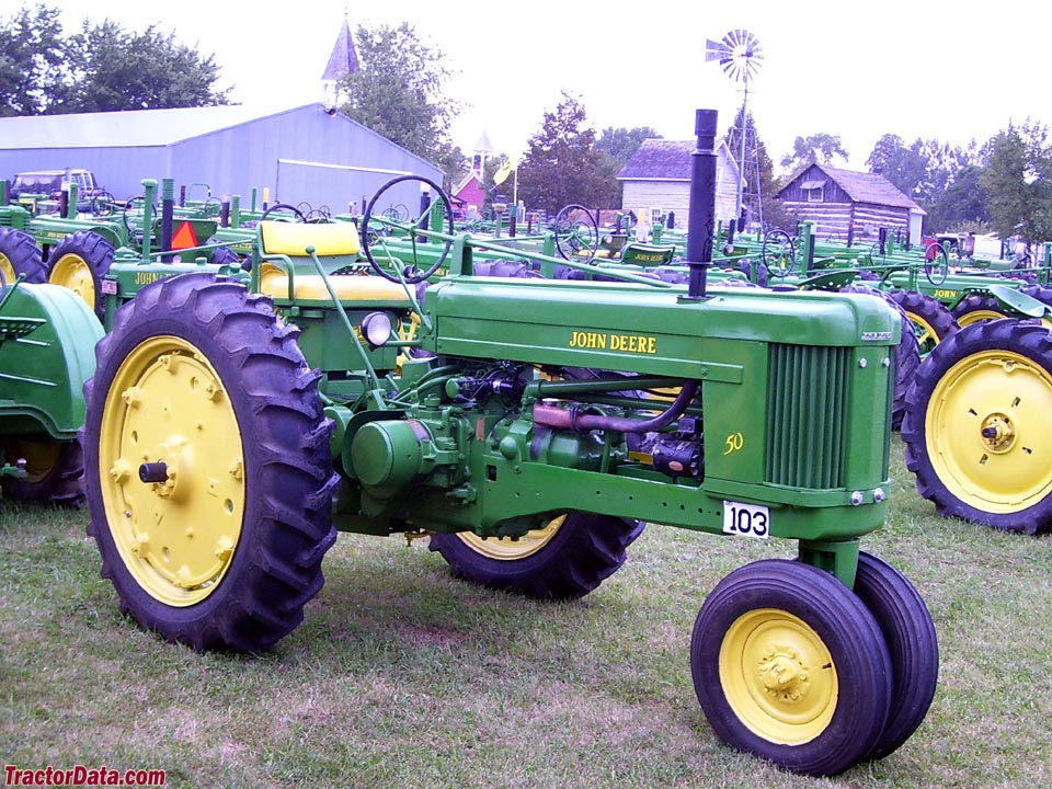 John Deere 50, right side.