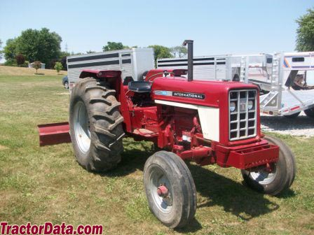 Ih 674 tractor data