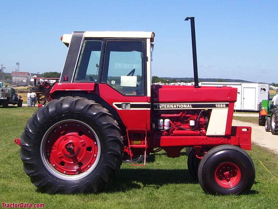 tractordata com international harvester 1086 tractor photos information