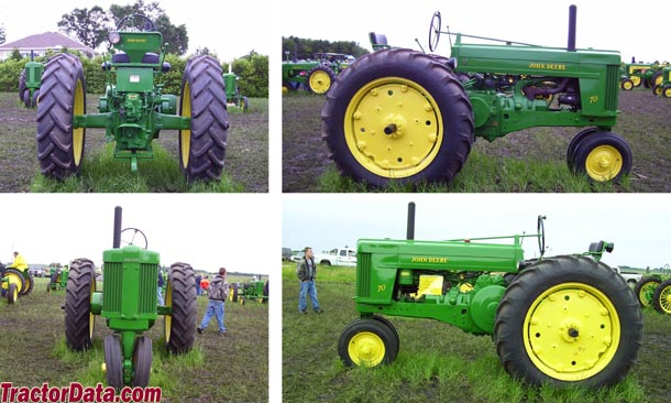 John Deere 70 walk around photo
