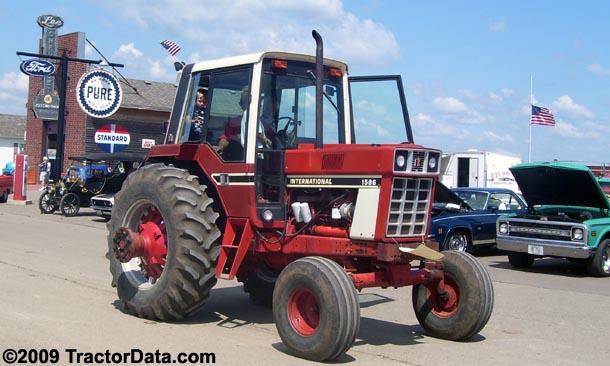 TractorData.com International Harvester 1586 Tractor