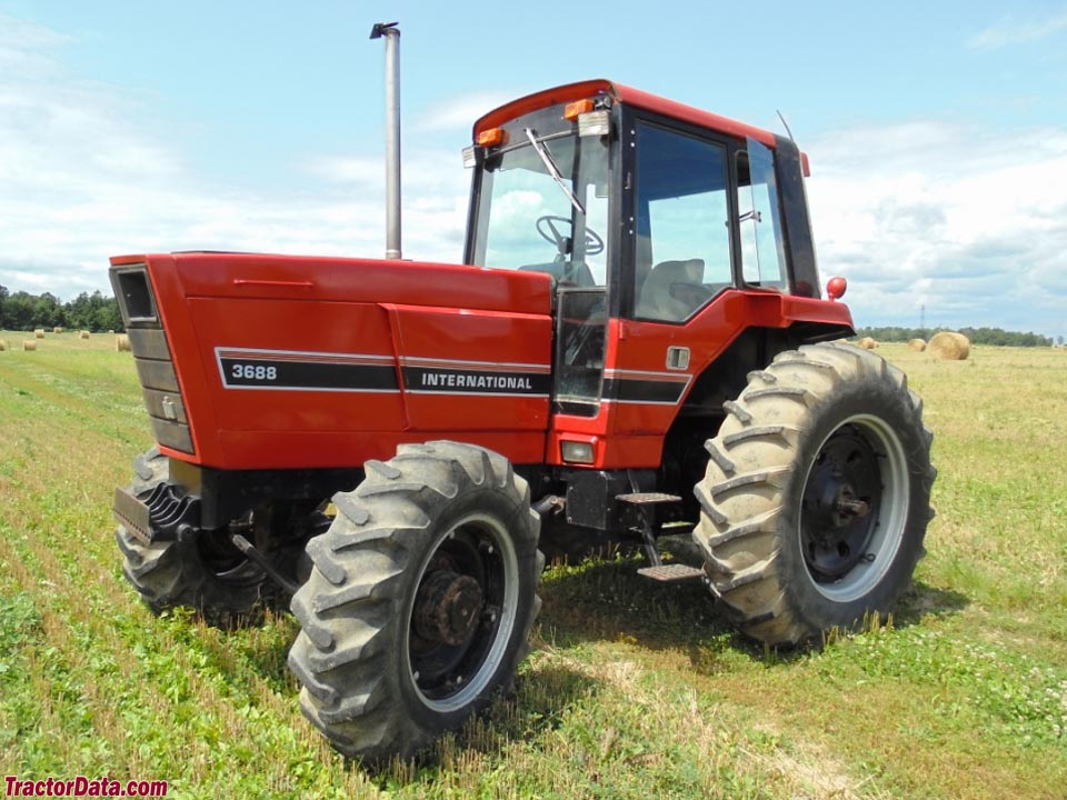International Harvester 3688 with four-wheel drive.