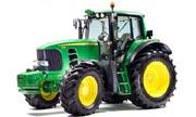 John Deere 7530 tractor photo