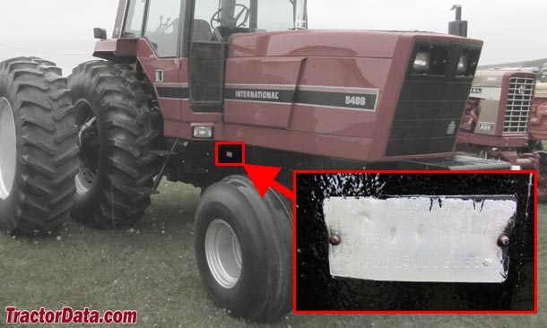 Tractordatacom International Harvester 5488 Tractor Information