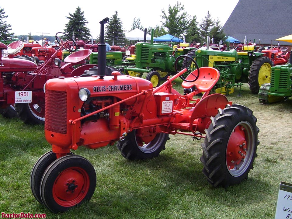 Allis-Chalmers C, left side.