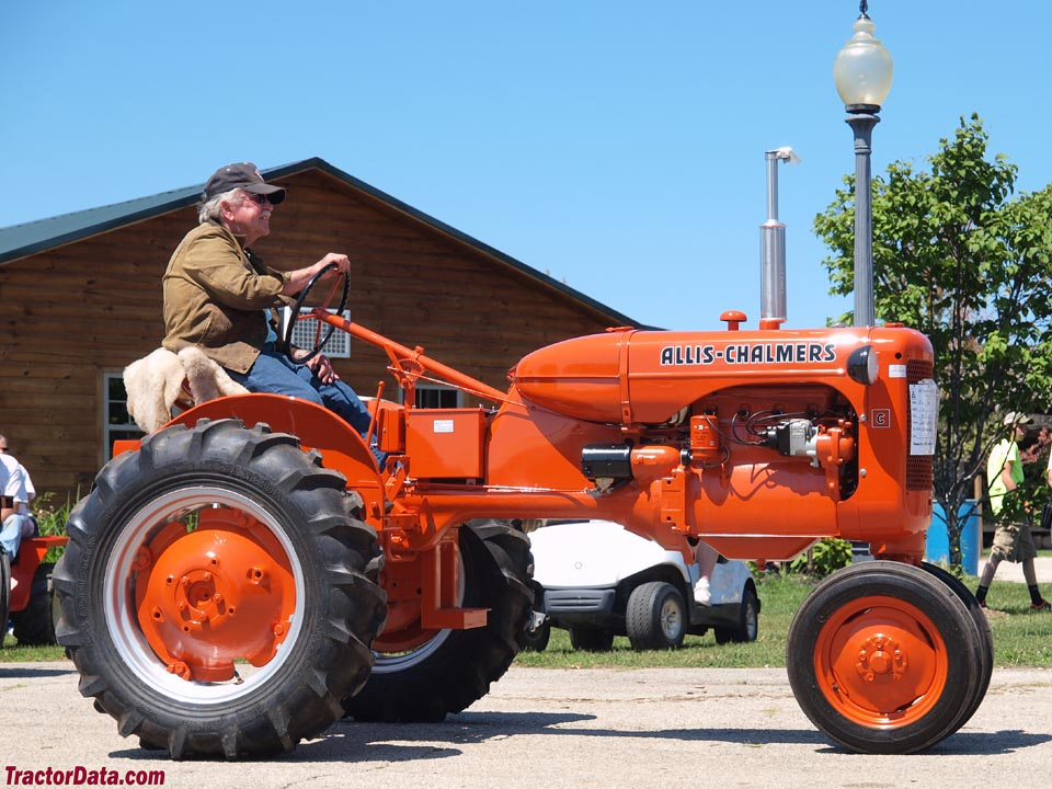 Allis-Chalmers C, right side.