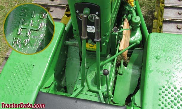 John Deere 40C  transmission photo