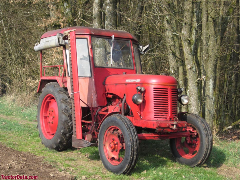 David Brown 25D with factory cab.