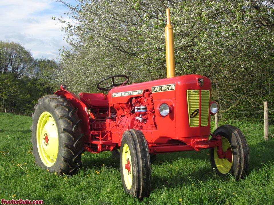 1965 red David Brown 770 Selectamatic.