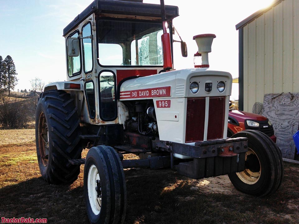 Case 990 Farm Tractors Parts : Tractordata david brown tractor photos information