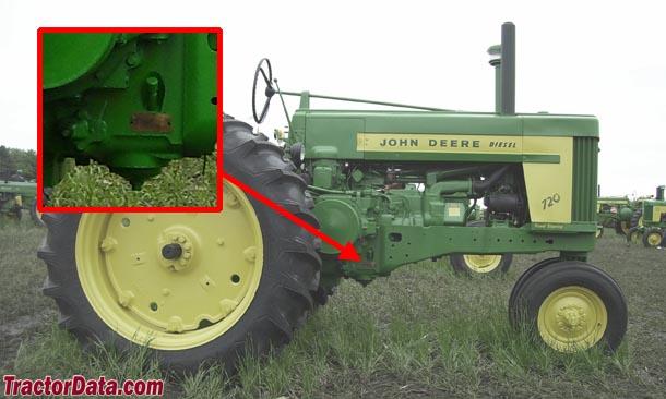 TractorData John Deere 720 tractor information – John Deere 730 Engine Diagram