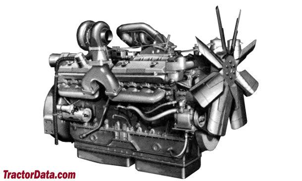 Big Bud 16V-747  engine photo