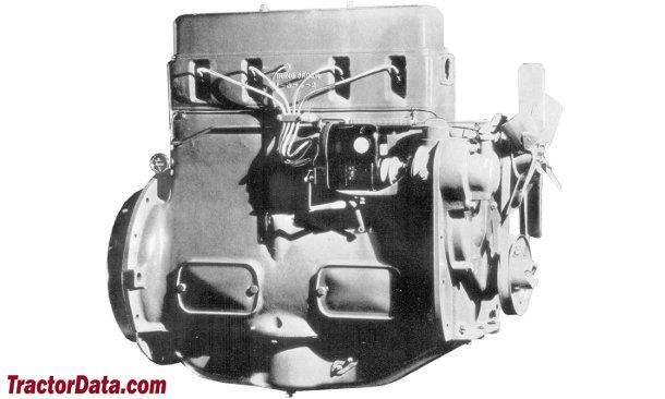 J.I. Case L  engine photo