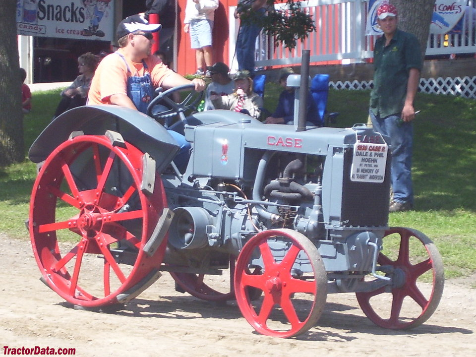 Model R with steel wheels