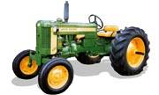 John Deere 420 tractor photo
