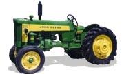 John Deere 330 tractor photo