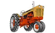 J.I. Case 741 tractor photo