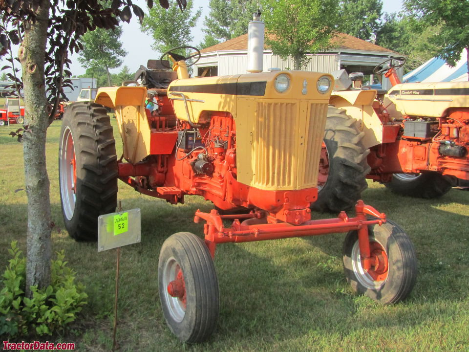 J.I. Case 741 with gasoline engine.