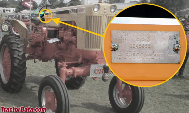 Antique Tractor Serial Numbers - Yesterdays Tractors