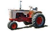 J.I. Case 831 tractor photo