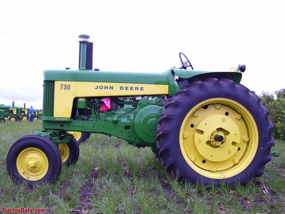 John Deere 730 gas tractor.