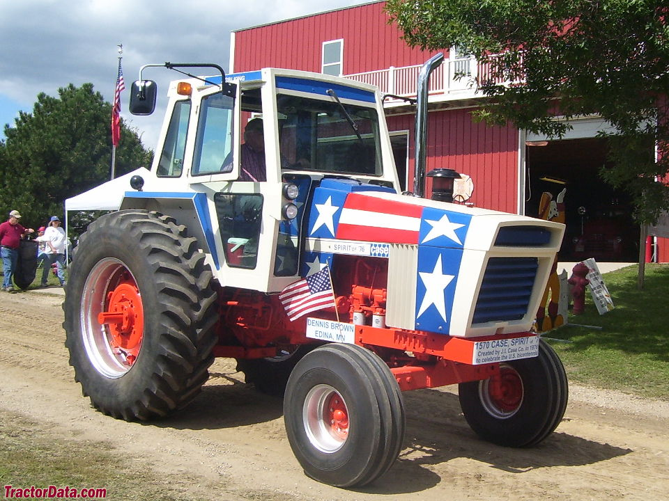 J.I. Case 1570 Spirit of '76 Bicentennial Tractor