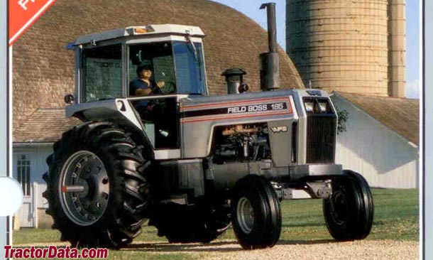 195 White Tractor : Tractordata white tractor photos information