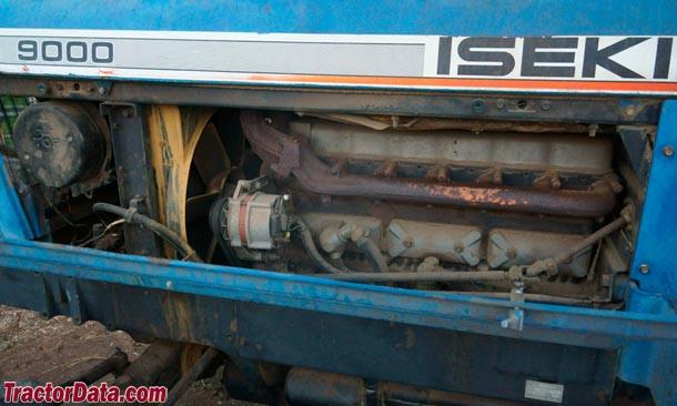 Iseki T9000  engine photo