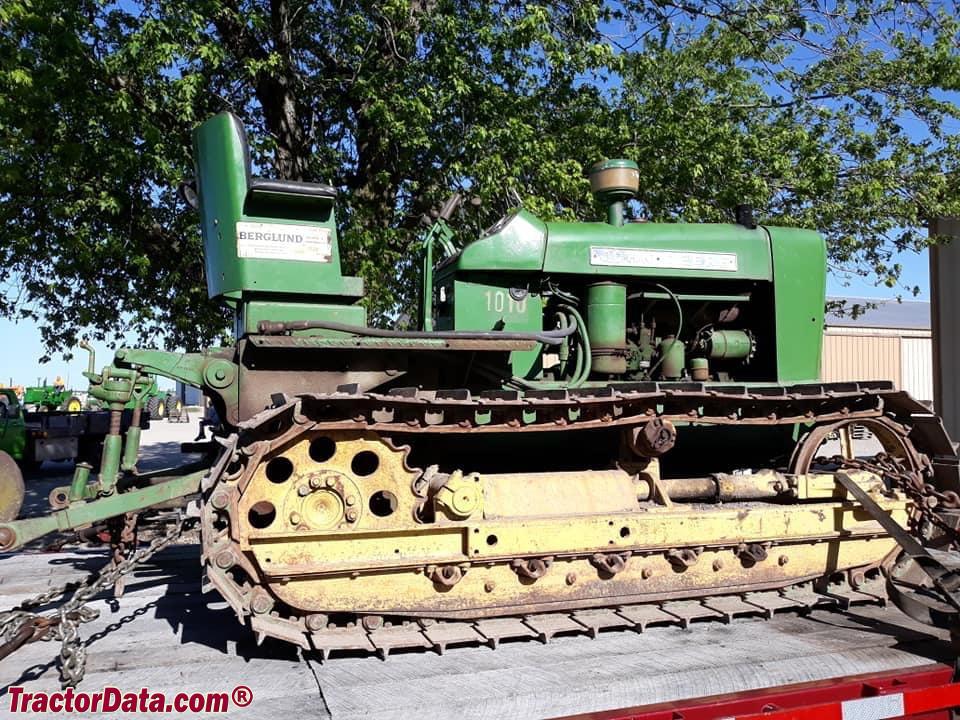 John Deere 1010 Crawler Tractor : Tractordata john deere c tractor photos information